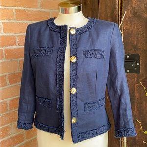 Michael Kors Navy Blue Jacket